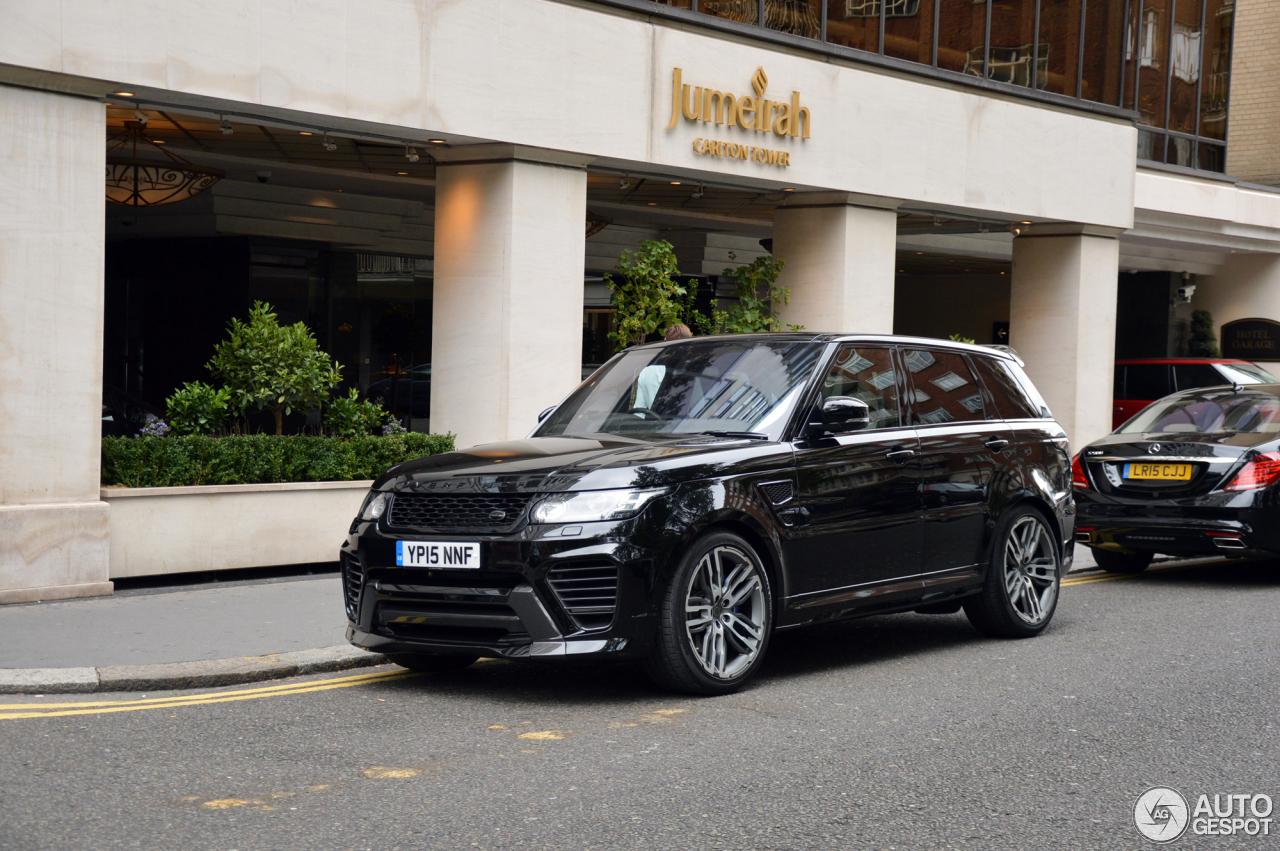 Range Rover Onyx >> Land Rover Range Rover Overfinch GT SVR - 23 September 2015 - Autogespot