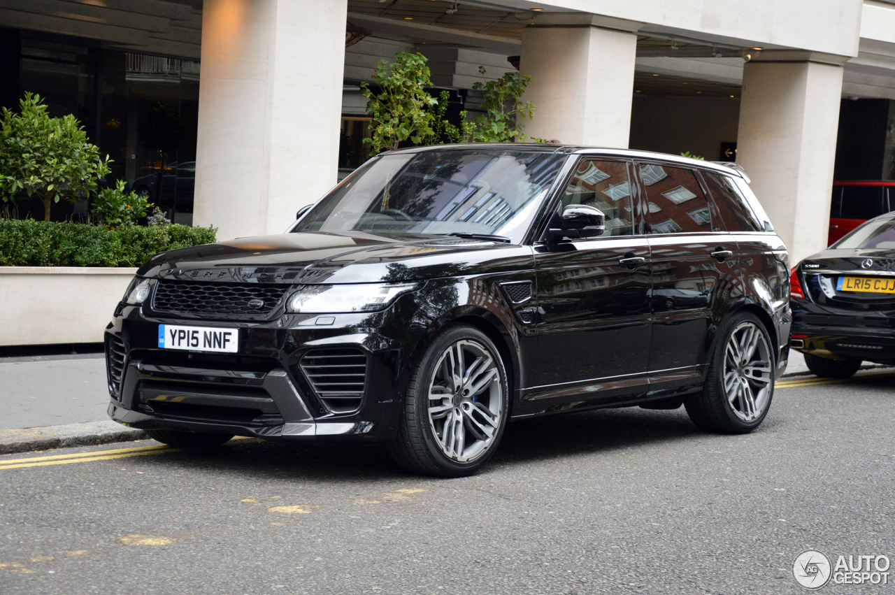 Land Rover Range Rover Overfinch GT SVR - 23 September ...