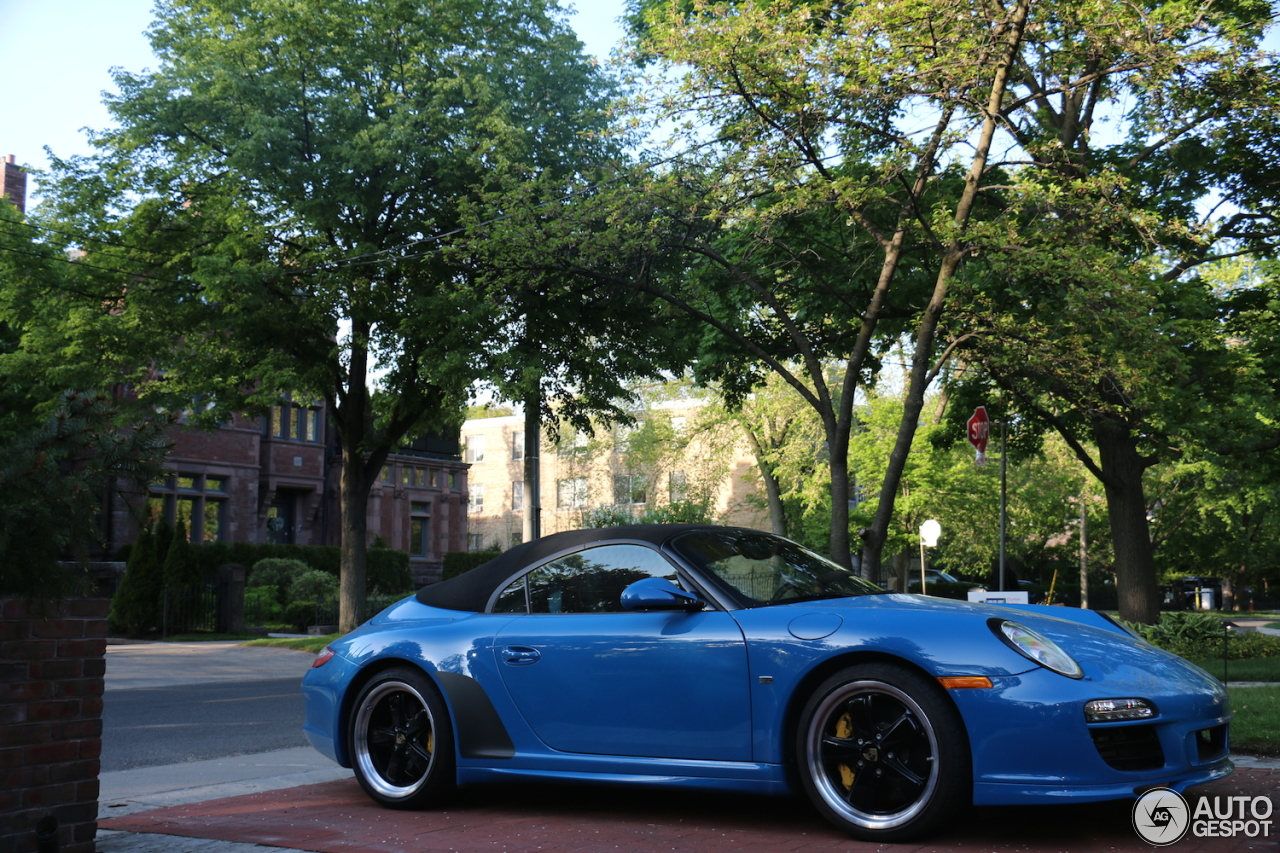 Porsche 997 Speedster 2 October 2015 Autogespot