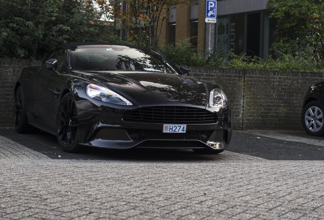 Aston Martin Vanquish Volante 2015 Carbon Black Edition