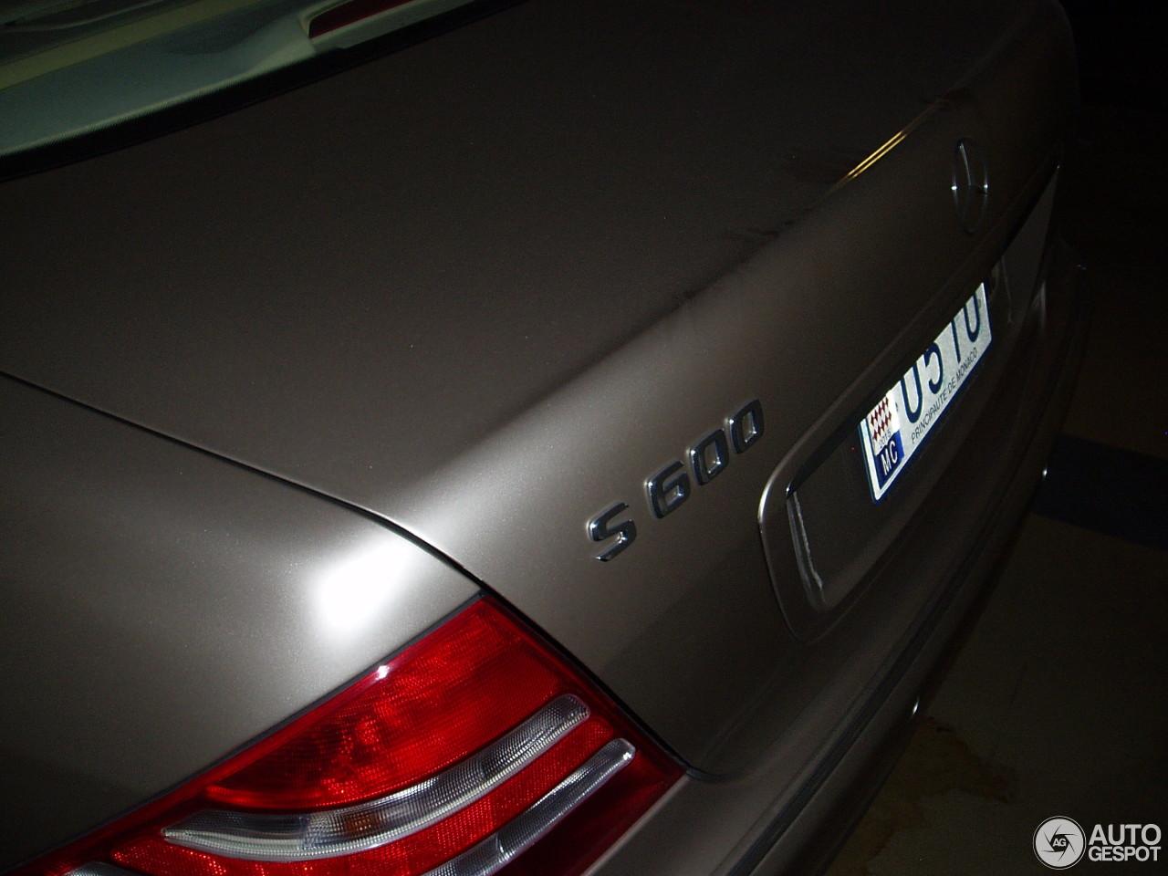 Mercedes benz s 600 pullman 11 oktober 2015 autogespot for 2015 mercedes benz s 600