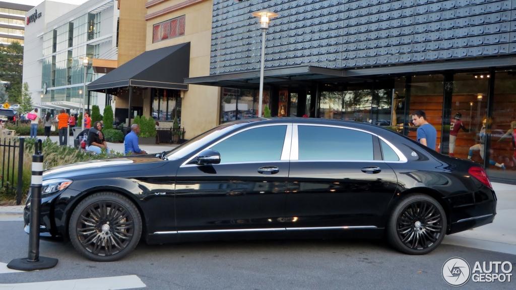 Mercedes Maybach S600 12 October 2015 Autogespot