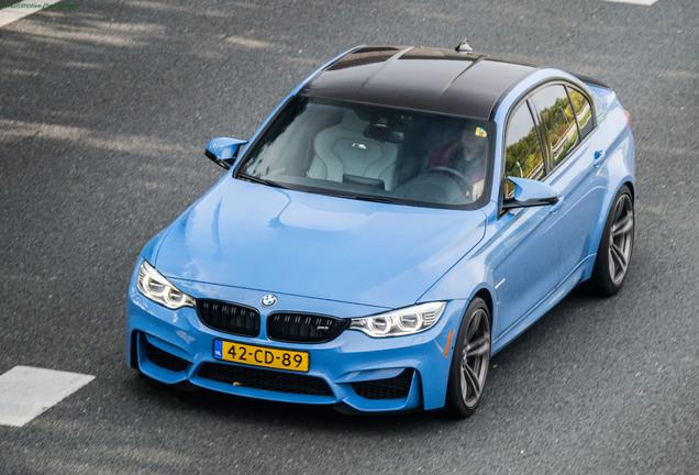 BMW M3 F80 Sedan 2014