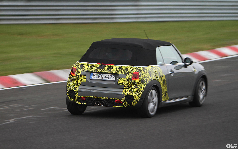 Mini R57 John Cooper Works Cabriolet 2016 24 October 2015 Autogespot