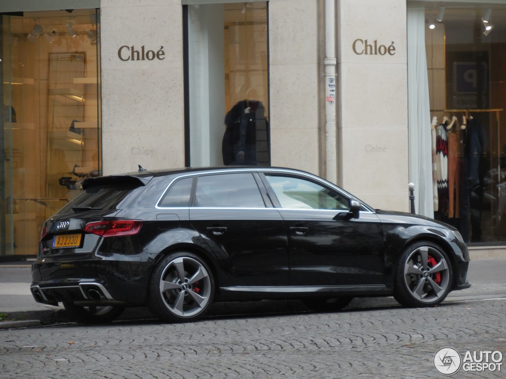 audi rs3 sportback 8v 26 octobre 2015 autogespot. Black Bedroom Furniture Sets. Home Design Ideas