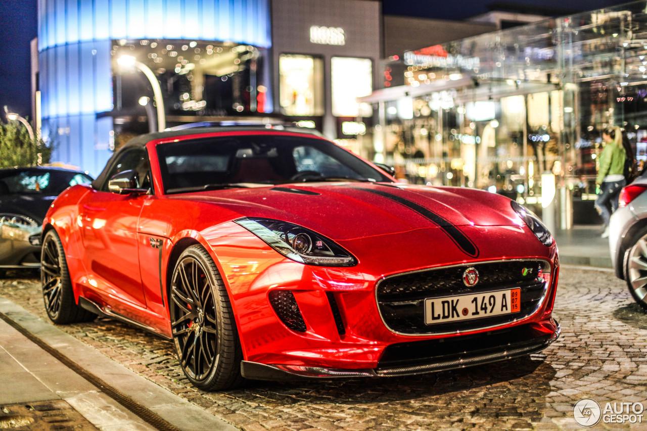 Jaguar STARTECH F-TYPE R Convertible - 30 October 2015 - Autogespot
