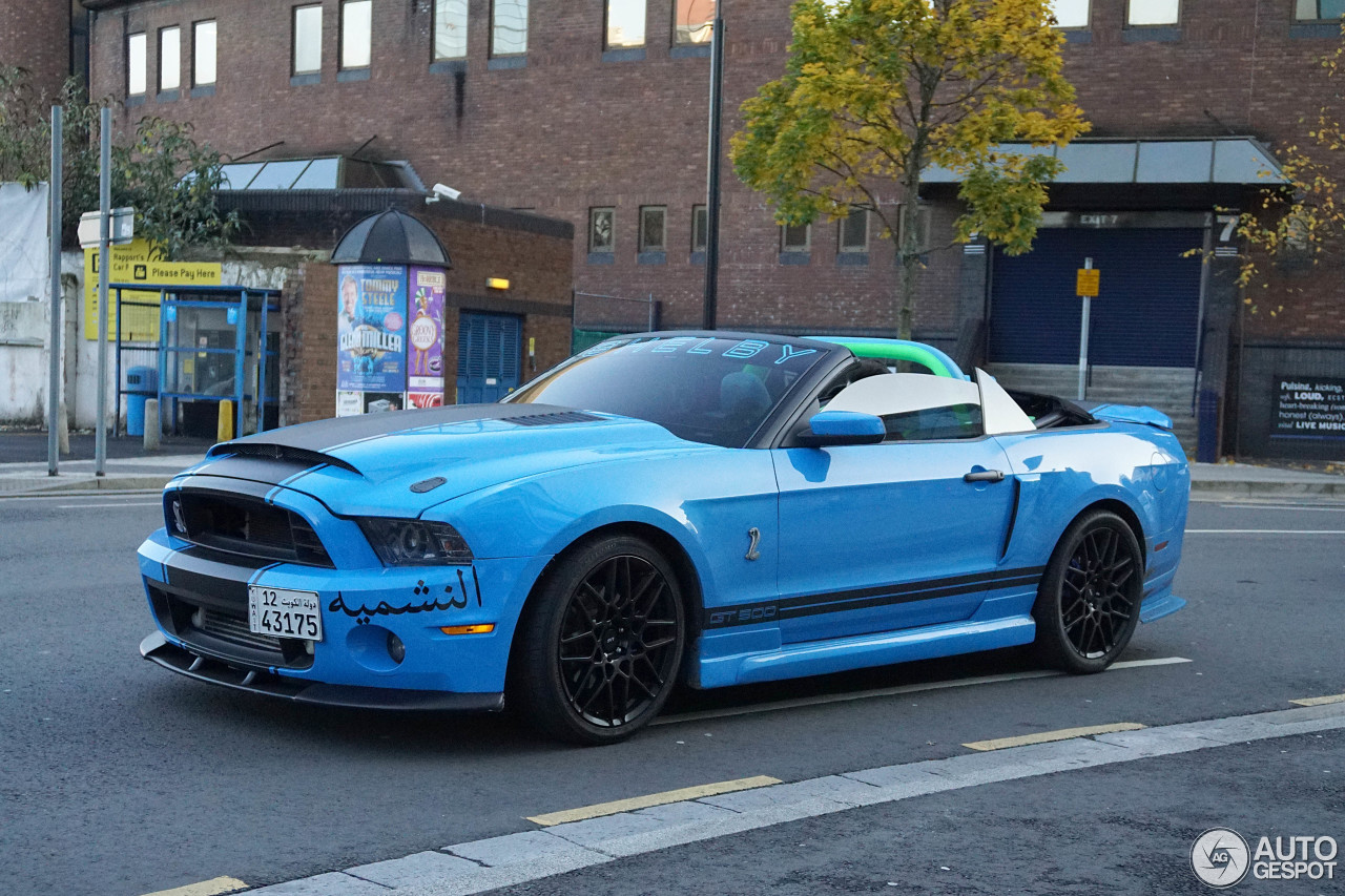 ford mustang shelby gt500 convertible 2014 31 october 2015 autogespot. Black Bedroom Furniture Sets. Home Design Ideas
