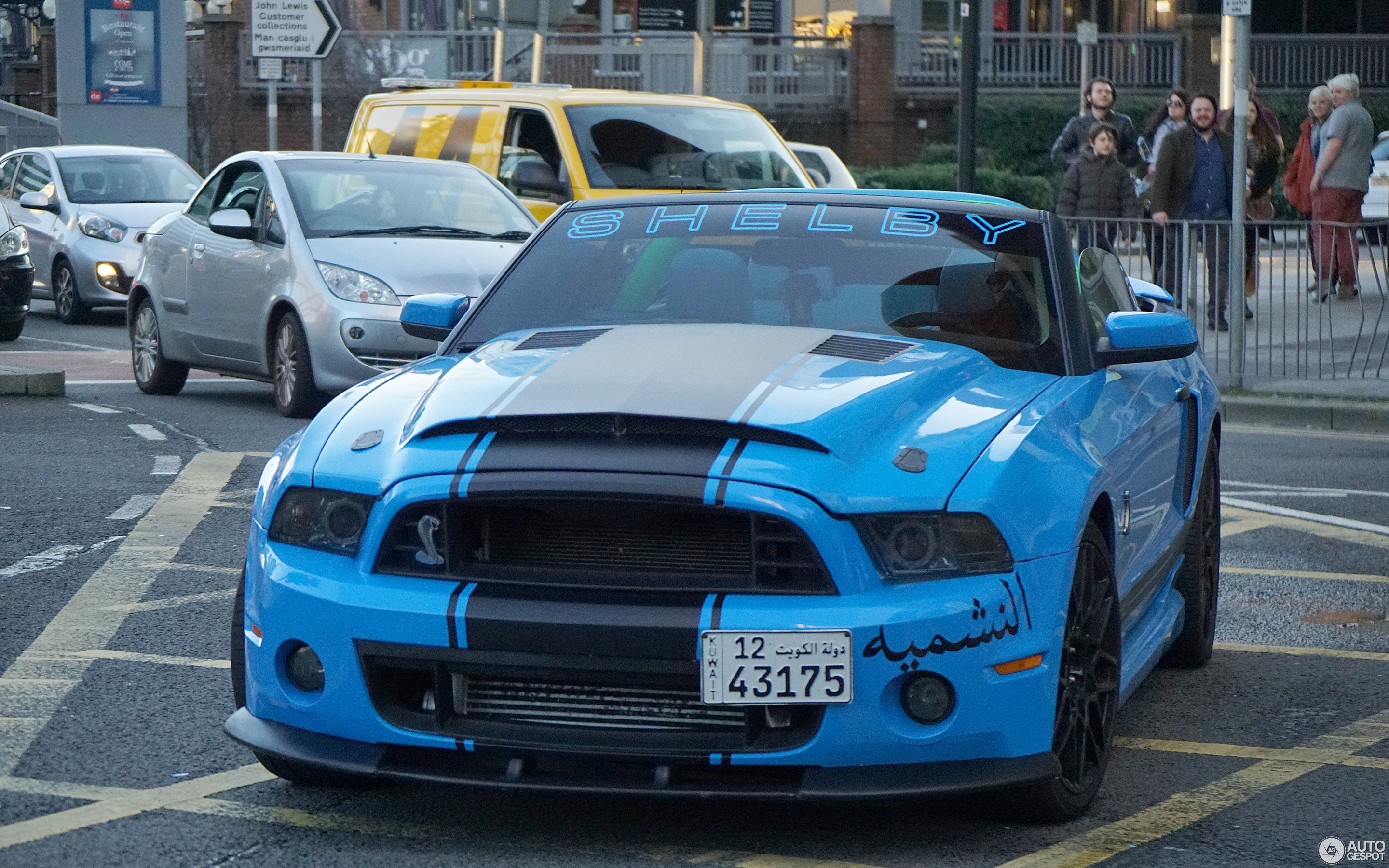 Ford Mustang Shelby GT500 Convertible 2014 31 October 2015