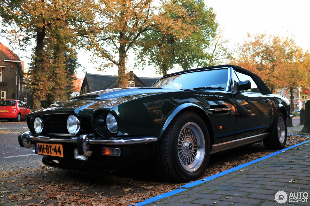 aston martin v8 vantage volante pow 1 november 2015 autogespot. Black Bedroom Furniture Sets. Home Design Ideas