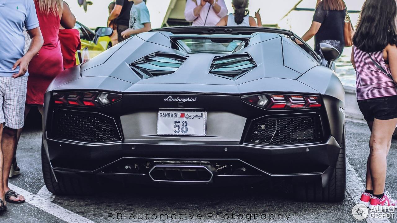 Lamborghini Aventador Lp700 4 Roadster 3 November 2015