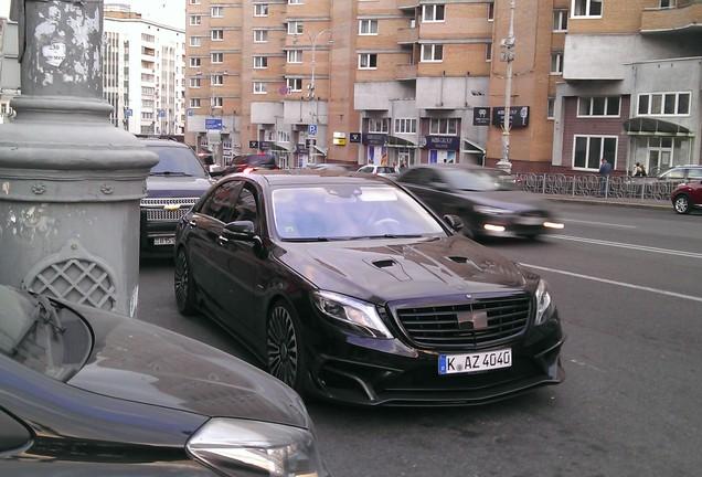 Mercedes-Benz Mansory S63 AMG W222