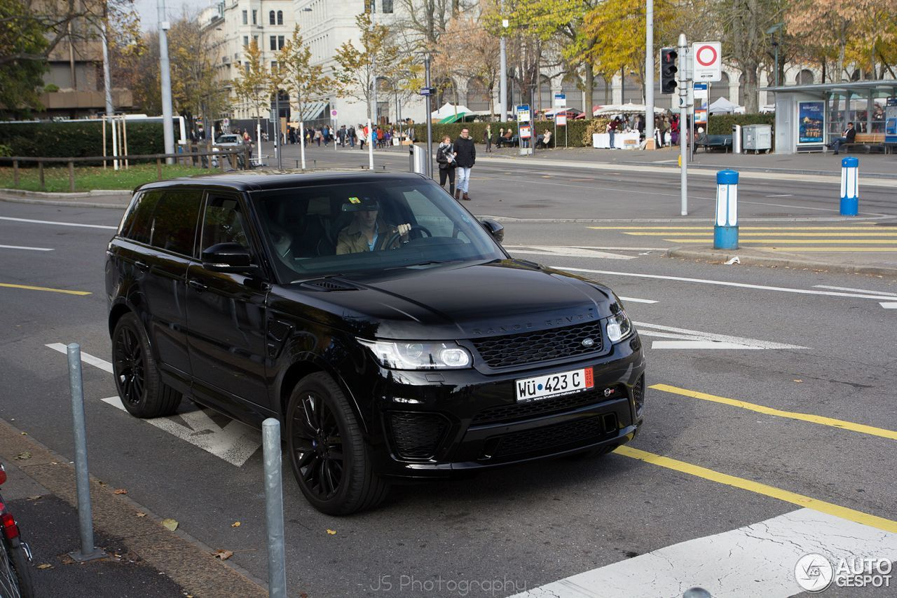 land rover range rover sport svr 7 november 2015 autogespot. Black Bedroom Furniture Sets. Home Design Ideas
