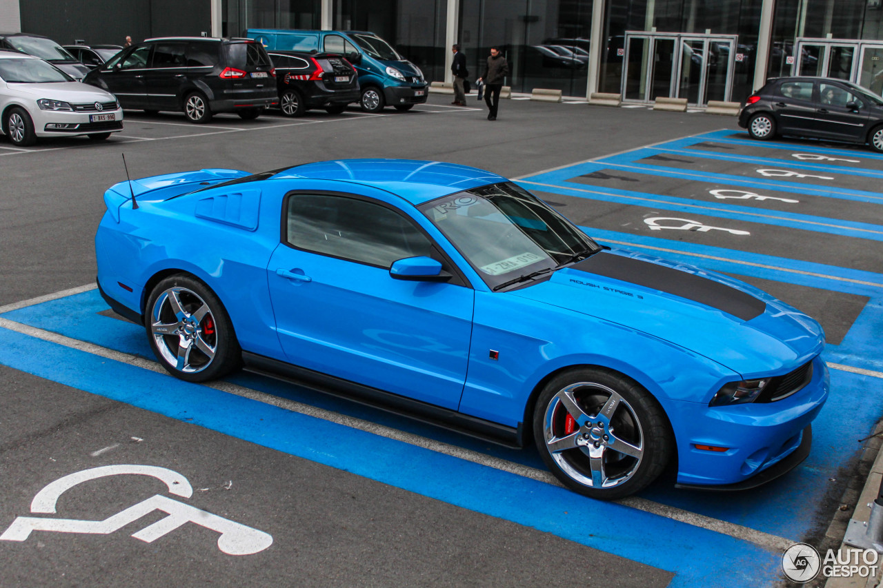 ford mustang roush 5 0 stage 3 2011 12 novembre 2015 autogespot. Black Bedroom Furniture Sets. Home Design Ideas