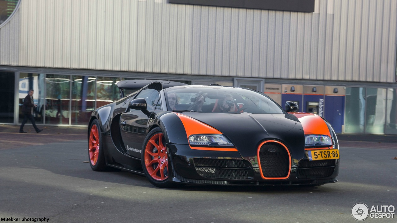 bugatti veyron 16 4 grand sport vitesse world record car edition 14 november 2015 autogespot. Black Bedroom Furniture Sets. Home Design Ideas