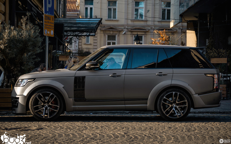 Land Rover Range Rover Lumma Clr R 18 November 2015