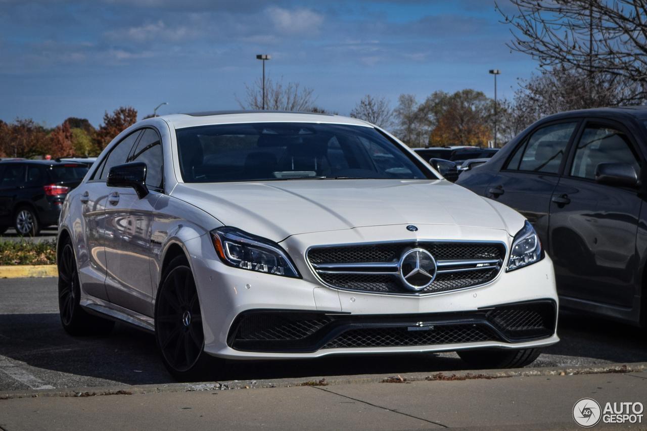 Mercedes Benz Cls 63 Amg S C218 2015 8 December 2015