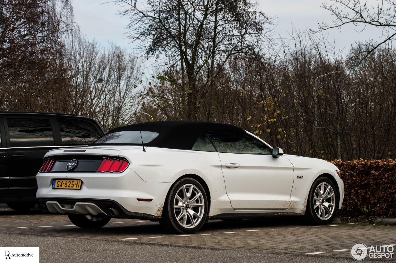 Ford Mustang Gt 50th Anniversary Convertible 15 December