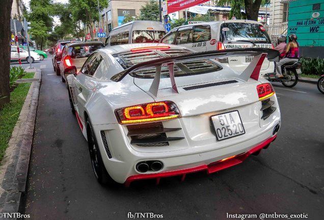 Audi R8 V8 Prior Design Twin Turbo Heffner Performance
