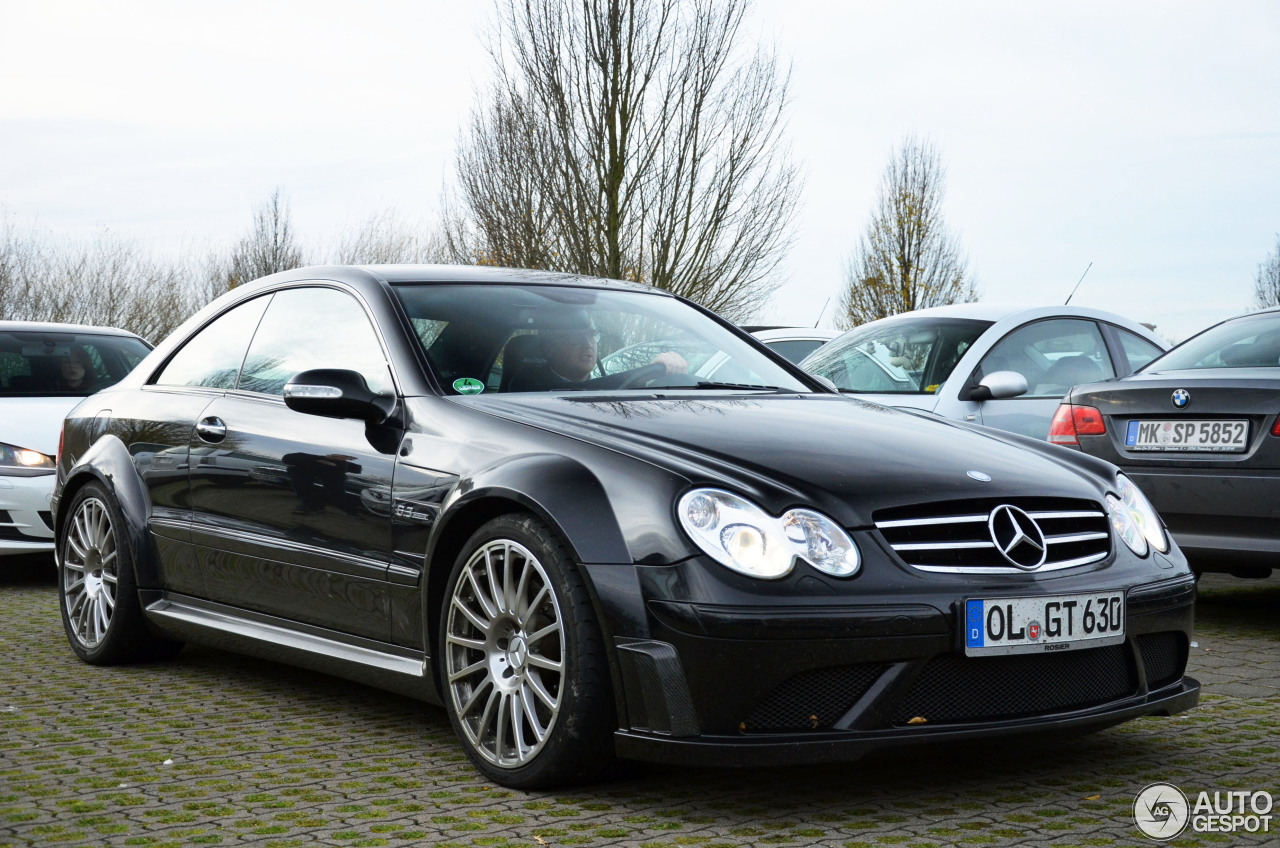 Mercedes benz clk 63 amg black series 29 december 2015 for A series mercedes benz